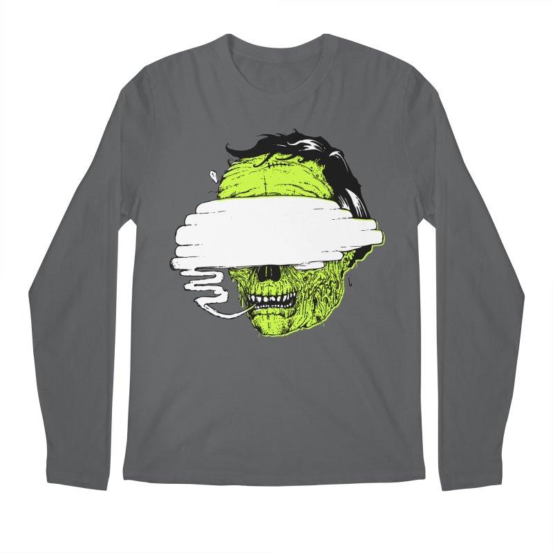 Speeeeeak Men's Longsleeve T-Shirt by Garrett Shane Bryant