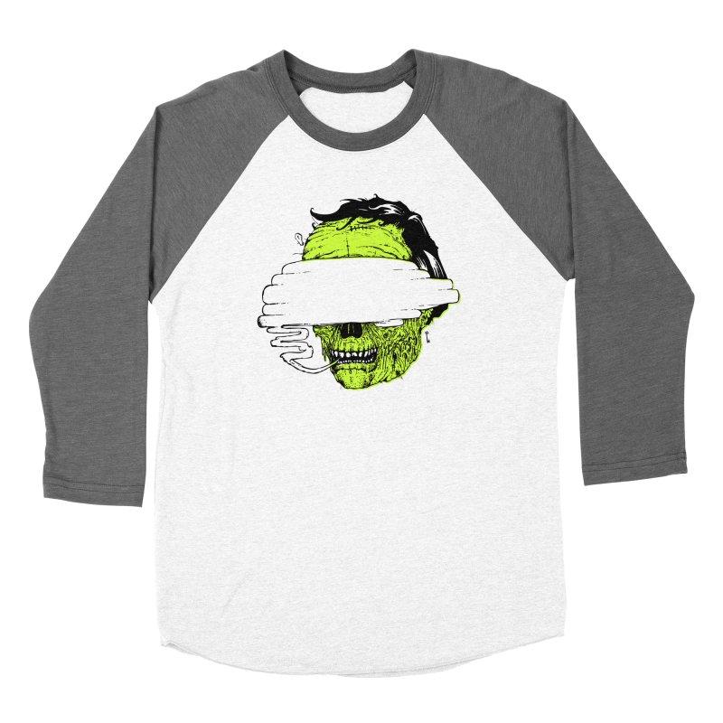 Speeeeeak Men's Baseball Triblend Longsleeve T-Shirt by Garrett Shane Bryant