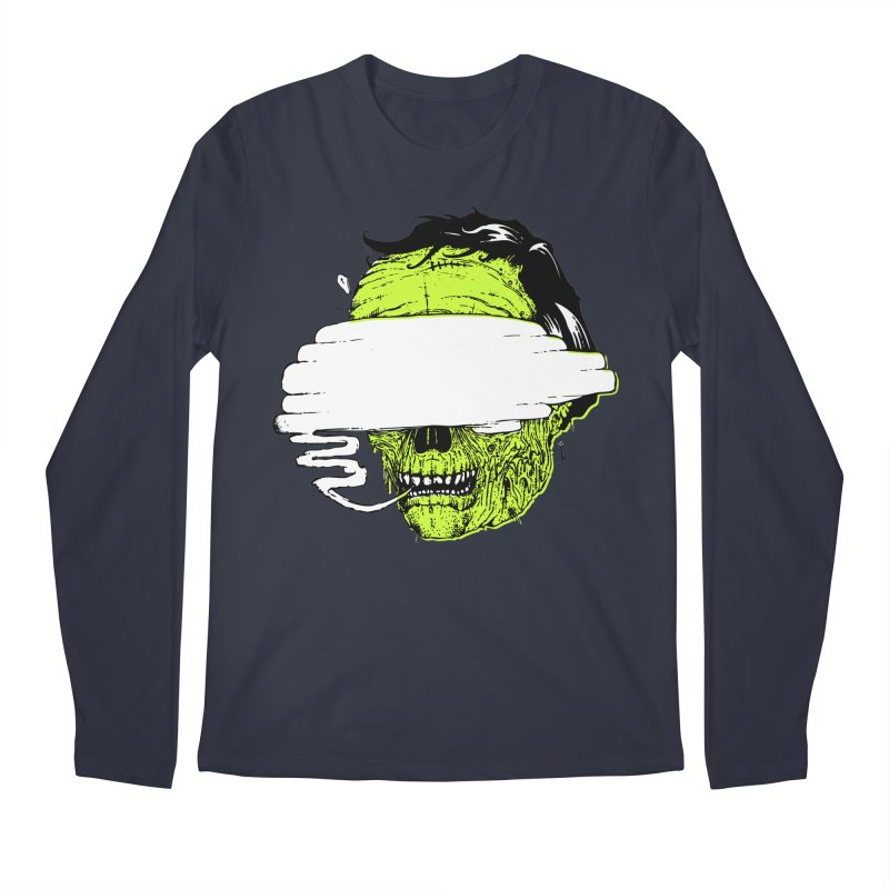 Speeeeeak Men's Regular Longsleeve T-Shirt by Garrett Shane Bryant