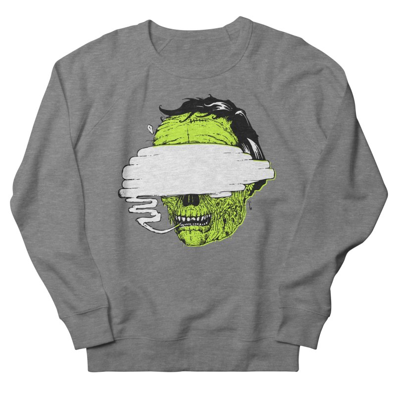 Speeeeeak Men's French Terry Sweatshirt by Garrett Shane Bryant