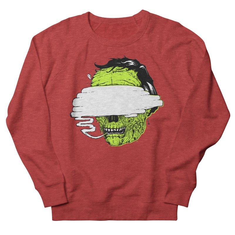 Speeeeeak Men's French Terry Sweatshirt by Garrett Shane Bryant