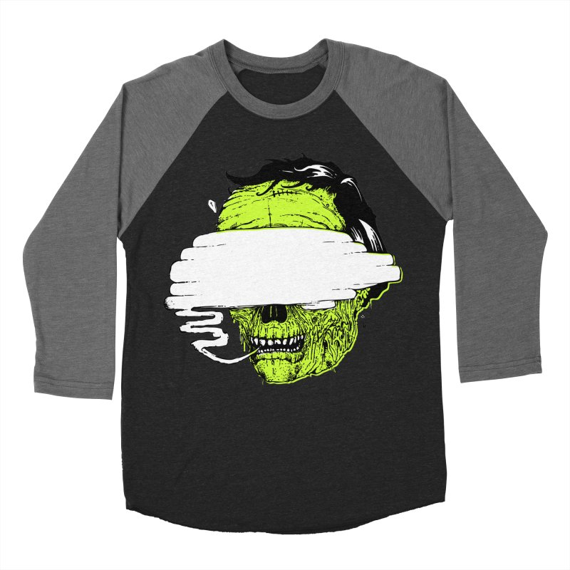 Speeeeeak Women's Baseball Triblend Longsleeve T-Shirt by Garrett Shane Bryant