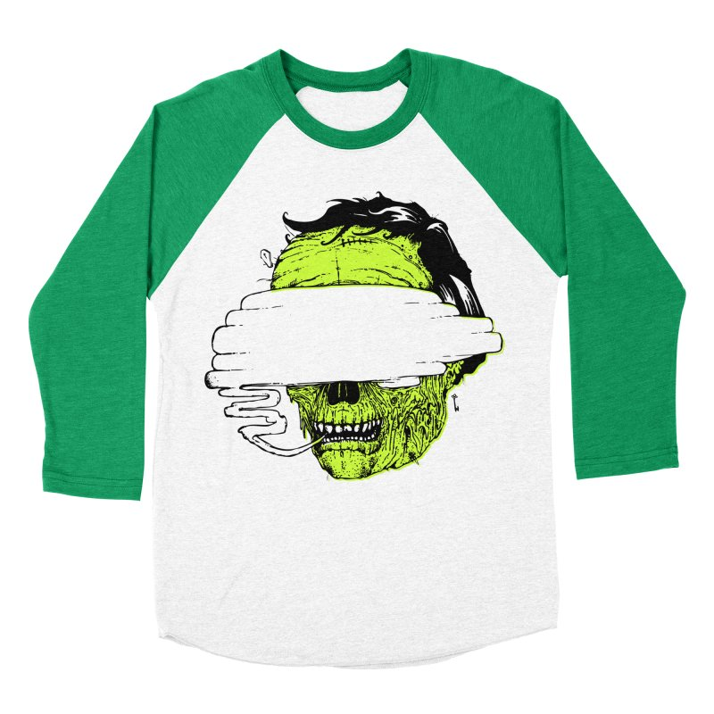 Speeeeeak Men's Baseball Triblend T-Shirt by Garrett Shane Bryant