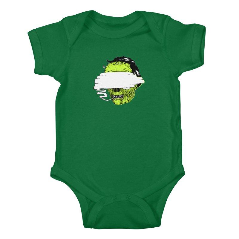 Speeeeeak Kids Baby Bodysuit by Garrett Shane Bryant