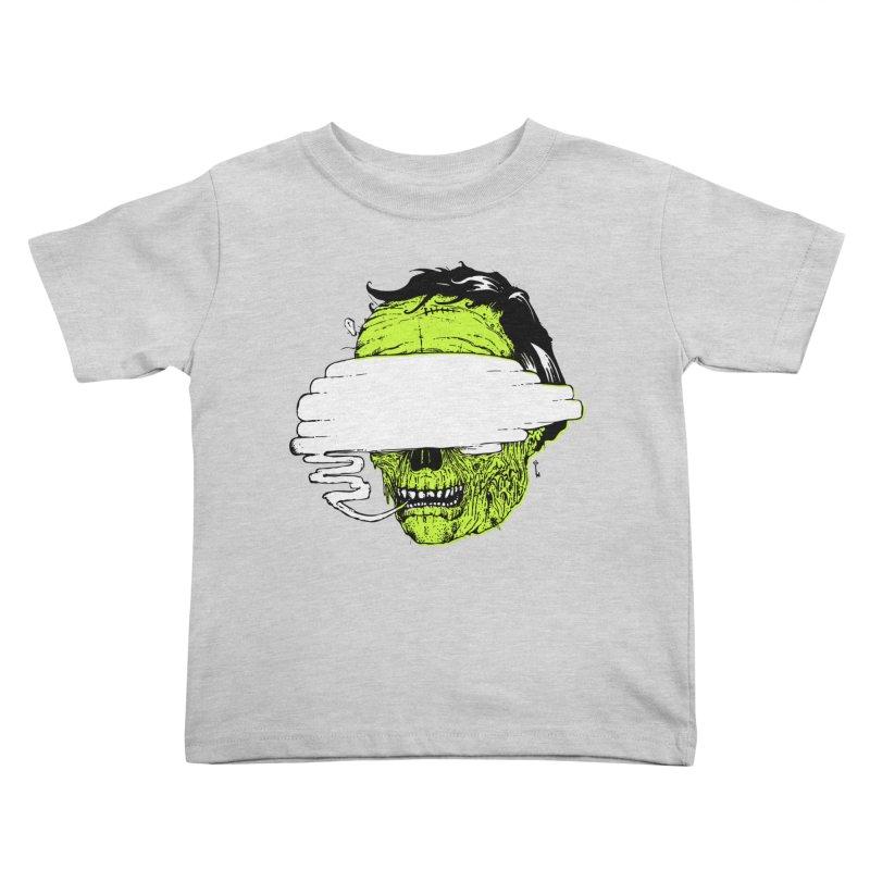 Speeeeeak Kids Toddler T-Shirt by Garrett Shane Bryant