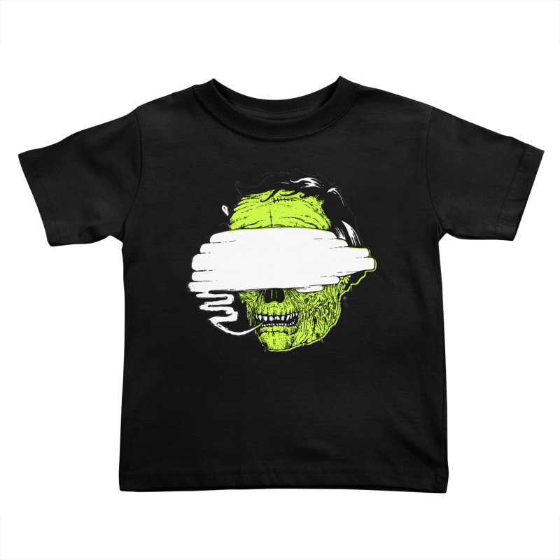 Speeeeeak Kids Toddler T-Shirt by Garrett Shane Bryant