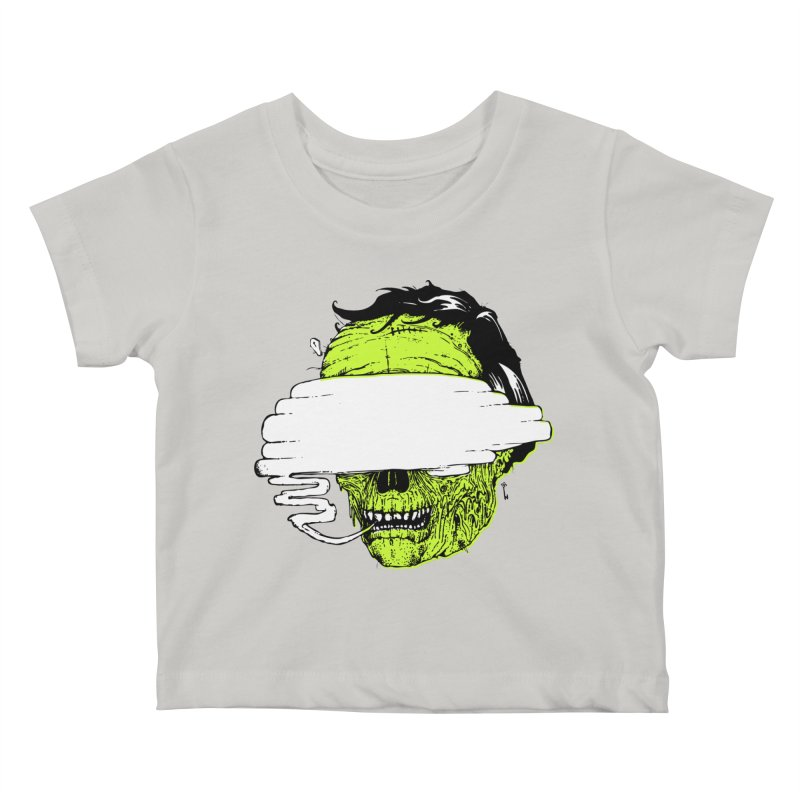 Speeeeeak Kids Baby T-Shirt by Garrett Shane Bryant