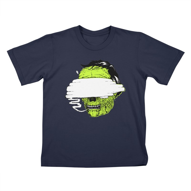 Speeeeeak Kids T-Shirt by Garrett Shane Bryant