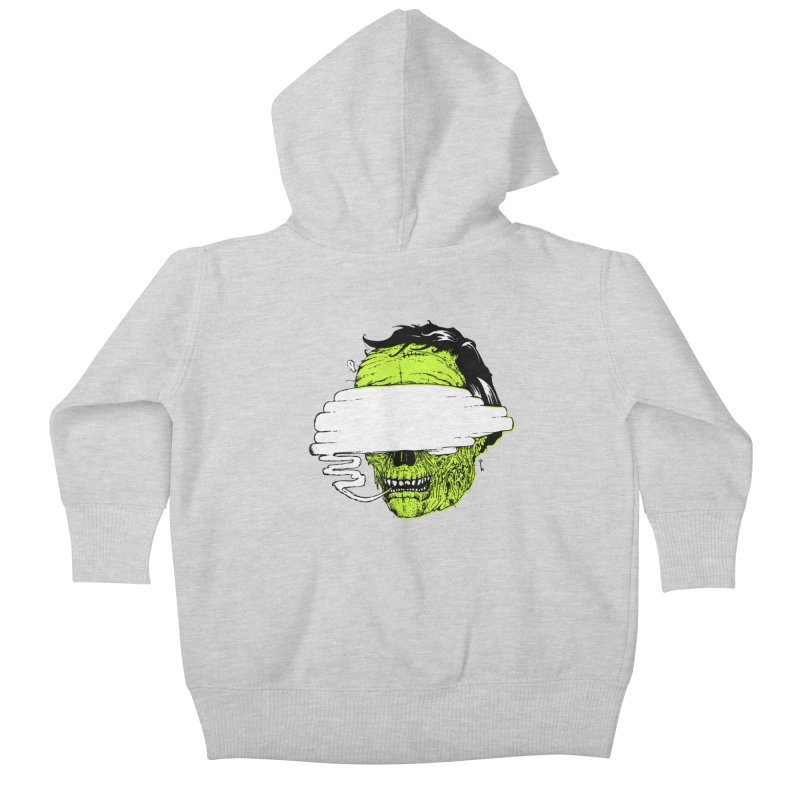 Speeeeeak Kids Baby Zip-Up Hoody by Garrett Shane Bryant
