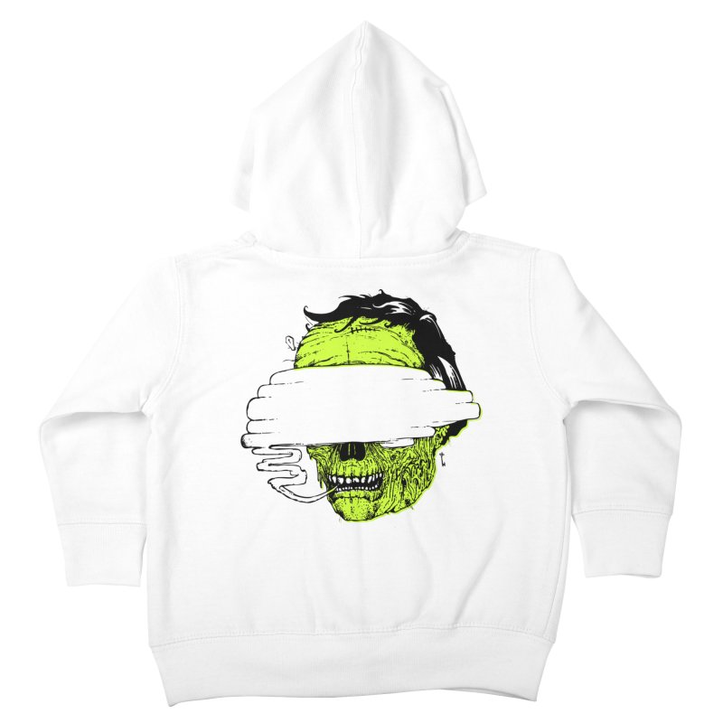 Speeeeeak Kids Toddler Zip-Up Hoody by Garrett Shane Bryant