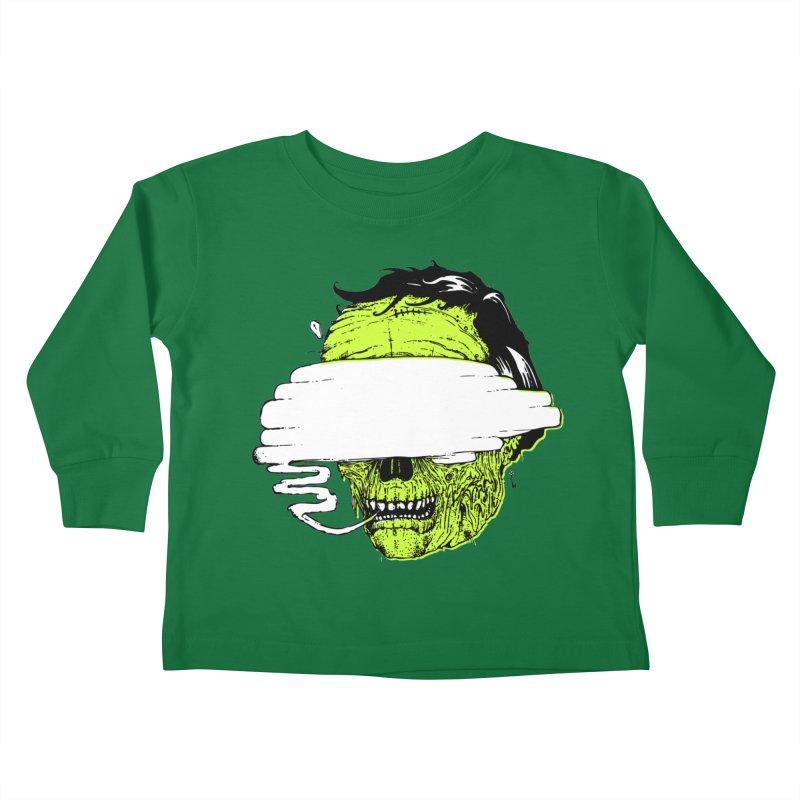Speeeeeak Kids Toddler Longsleeve T-Shirt by Garrett Shane Bryant