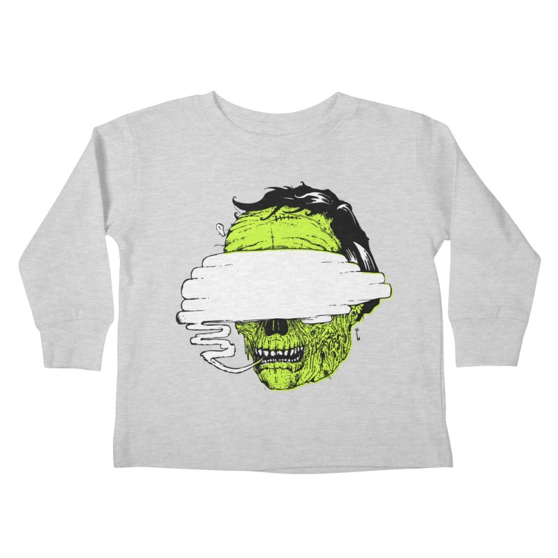 Speeeeeak Kids Toddler Longsleeve T-Shirt by Garrett Shane Bryant