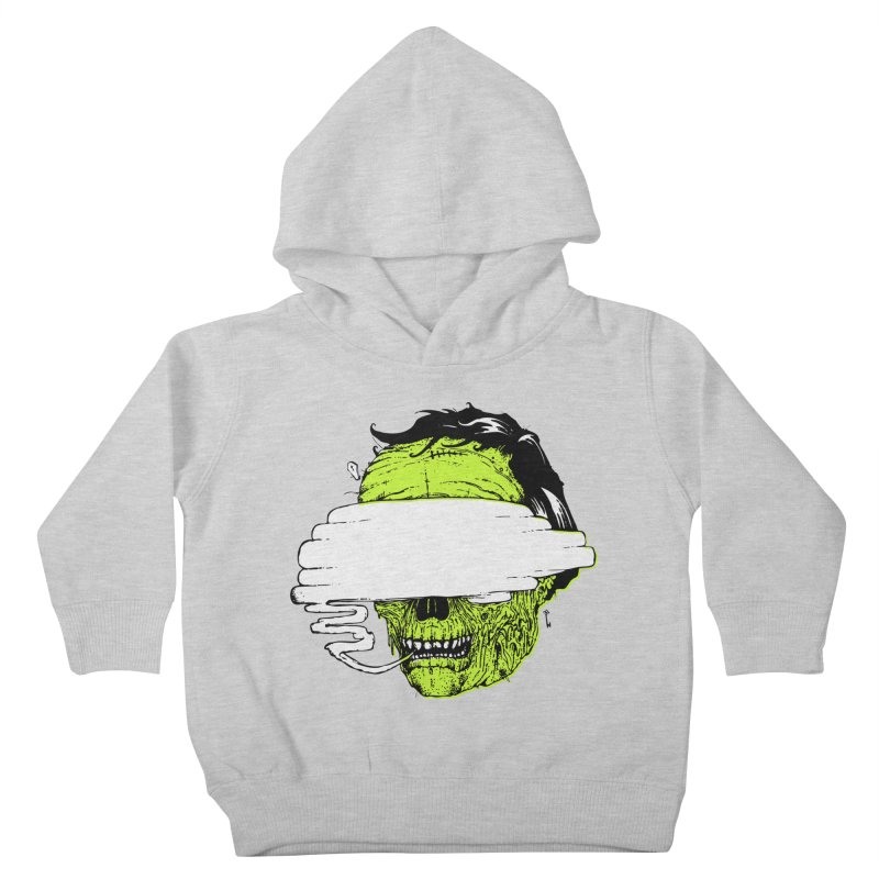 Speeeeeak Kids Toddler Pullover Hoody by Garrett Shane Bryant