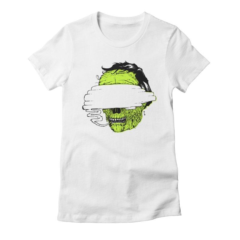 Speeeeeak Women's Fitted T-Shirt by Garrett Shane Bryant