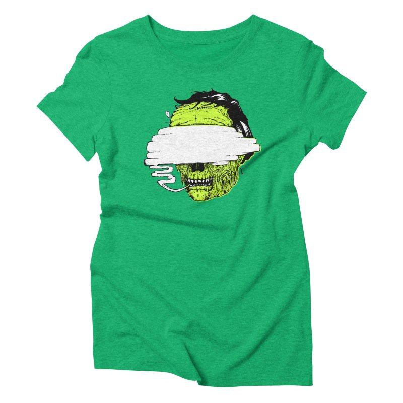 Speeeeeak Women's Triblend T-Shirt by Garrett Shane Bryant