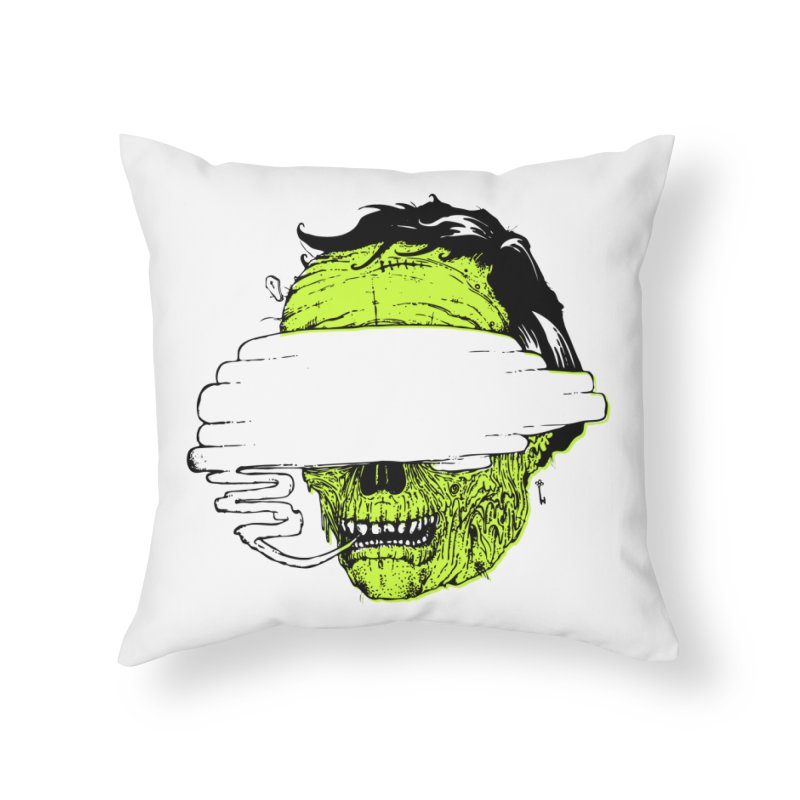 Speeeeeak Home Throw Pillow by Garrett Shane Bryant