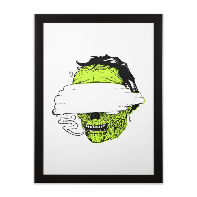 Speeeeeak Home Framed Fine Art Print by Garrett Shane Bryant