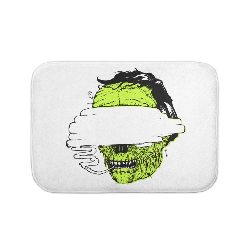 Speeeeeak Home Bath Mat by Garrett Shane Bryant