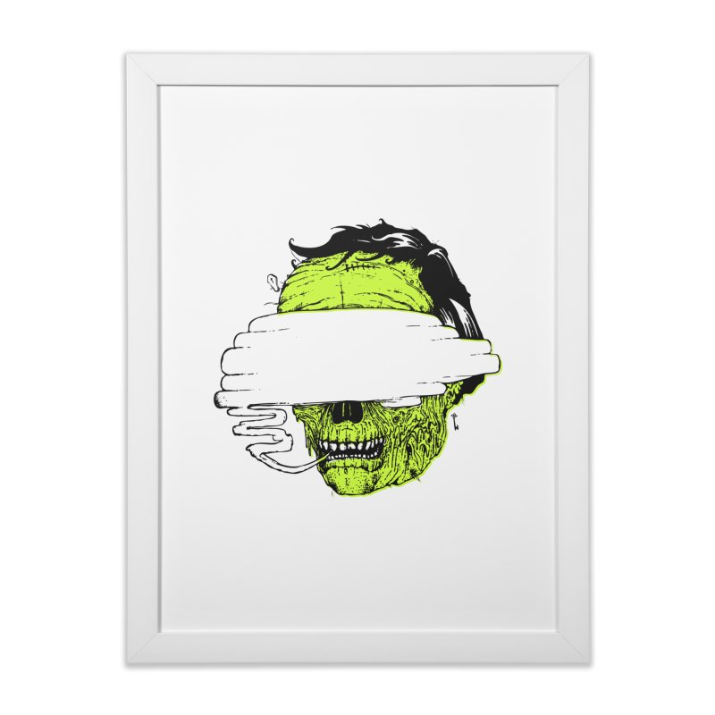 Speeeeeak Home Framed Fine Art Print by Garrett Shane Bryant