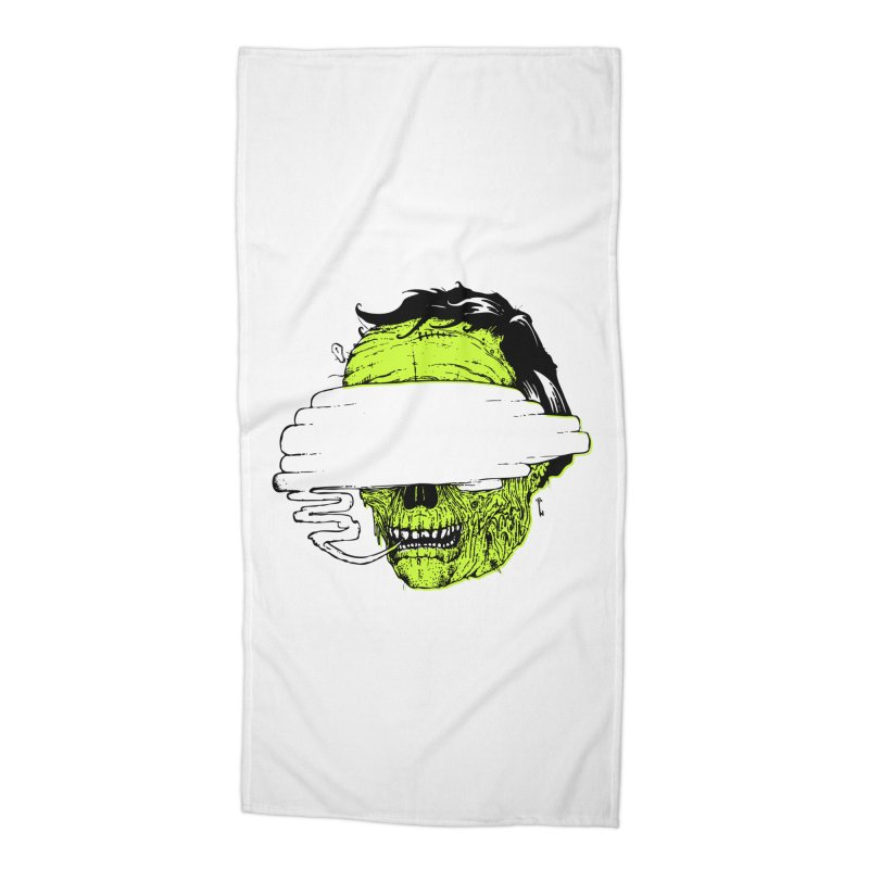 Speeeeeak Accessories Beach Towel by Garrett Shane Bryant