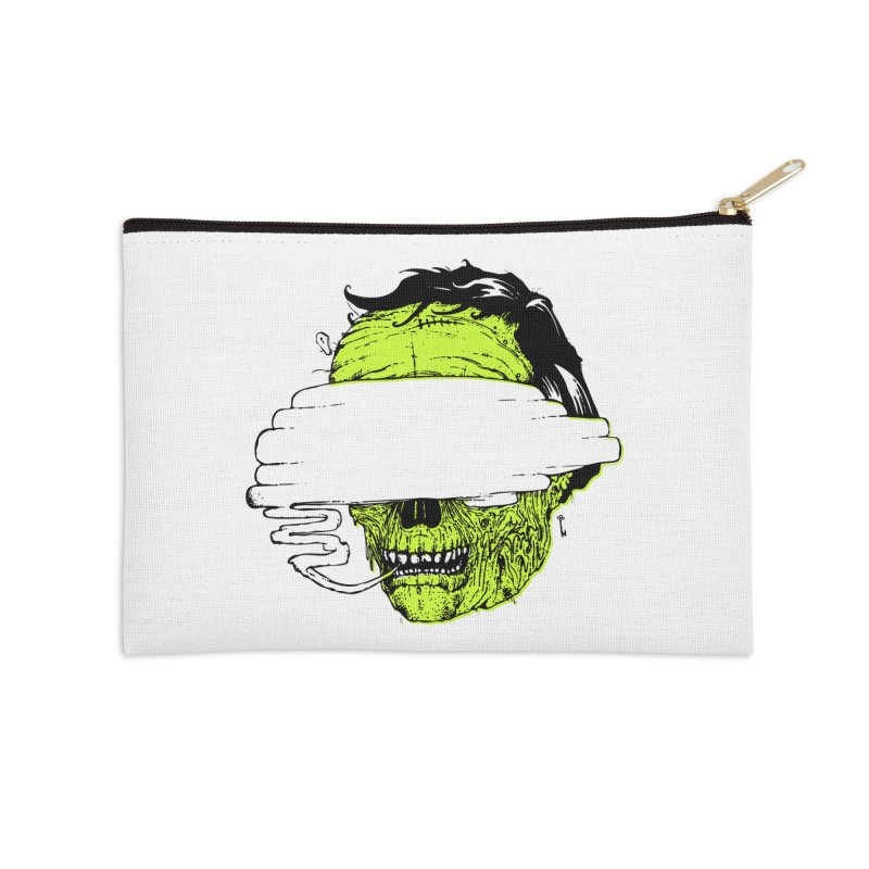 Speeeeeak Accessories Zip Pouch by Garrett Shane Bryant