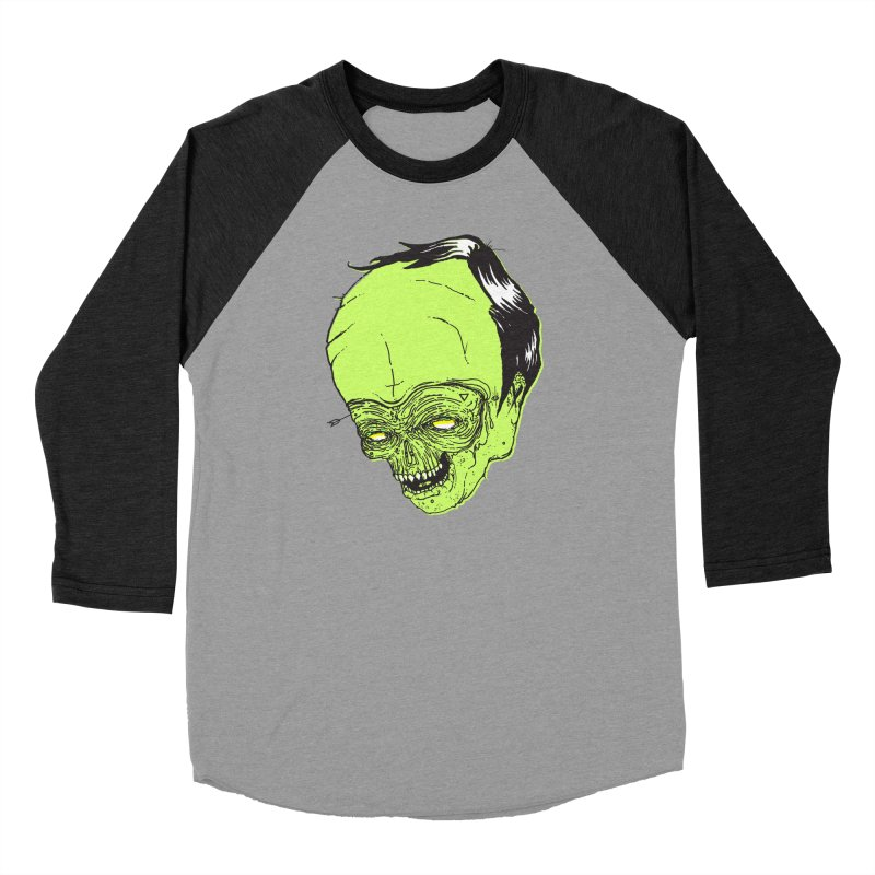 Swingset Creeper Men's Baseball Triblend Longsleeve T-Shirt by Garrett Shane Bryant