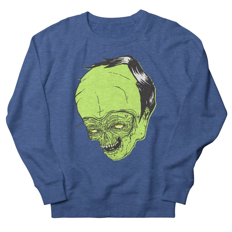 Swingset Creeper Men's French Terry Sweatshirt by Garrett Shane Bryant