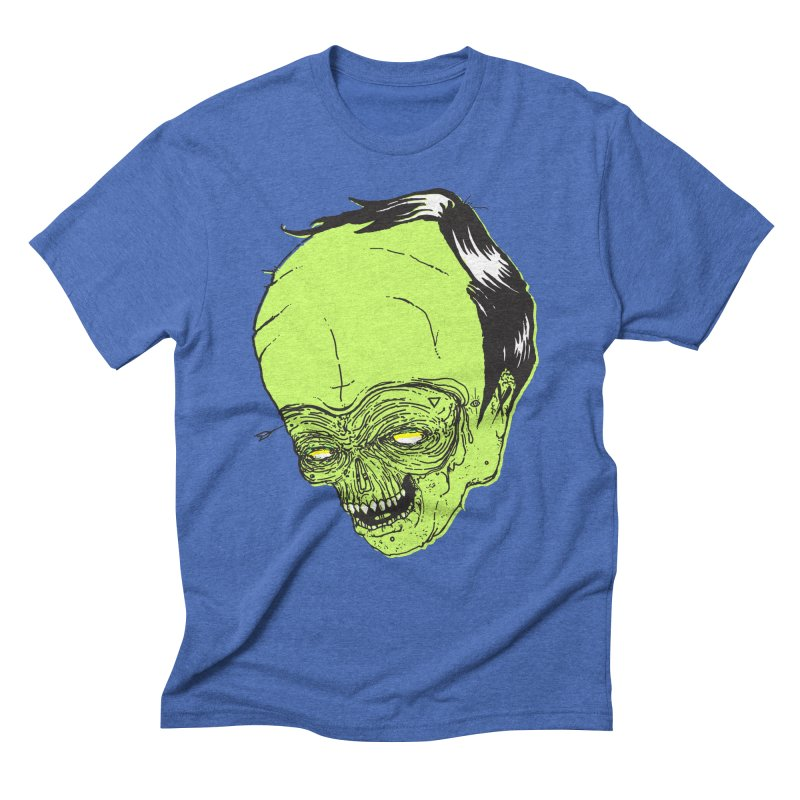 Swingset Creeper Men's Triblend T-Shirt by Garrett Shane Bryant