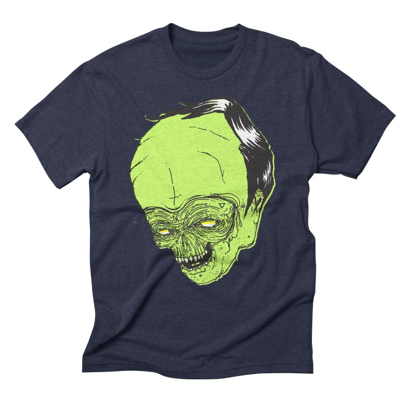 Swingset Creeper Men's Triblend T-Shirt by Garrett Shane Bryant