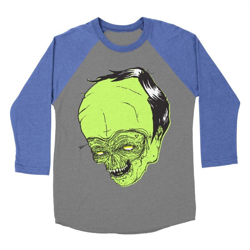Swingset Creeper Women's Baseball Triblend T-Shirt by Garrett Shane Bryant