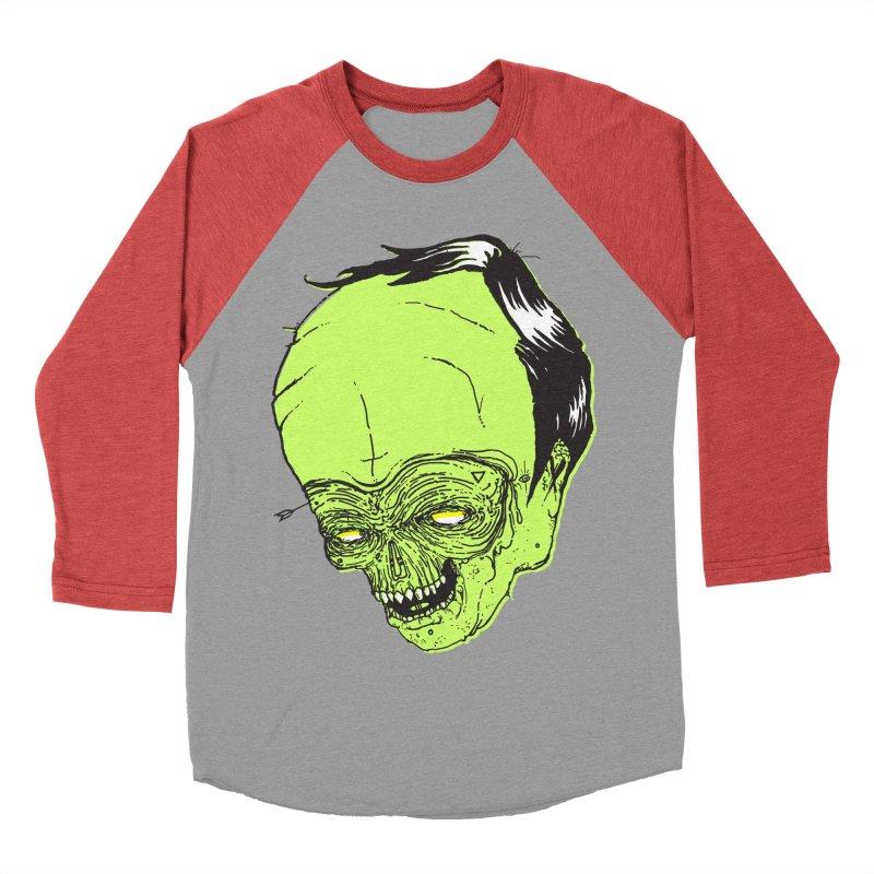 Swingset Creeper Women's Baseball Triblend Longsleeve T-Shirt by Garrett Shane Bryant