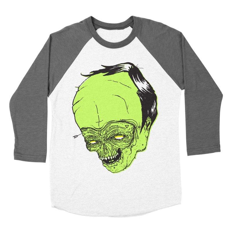 Swingset Creeper Men's Baseball Triblend T-Shirt by Garrett Shane Bryant