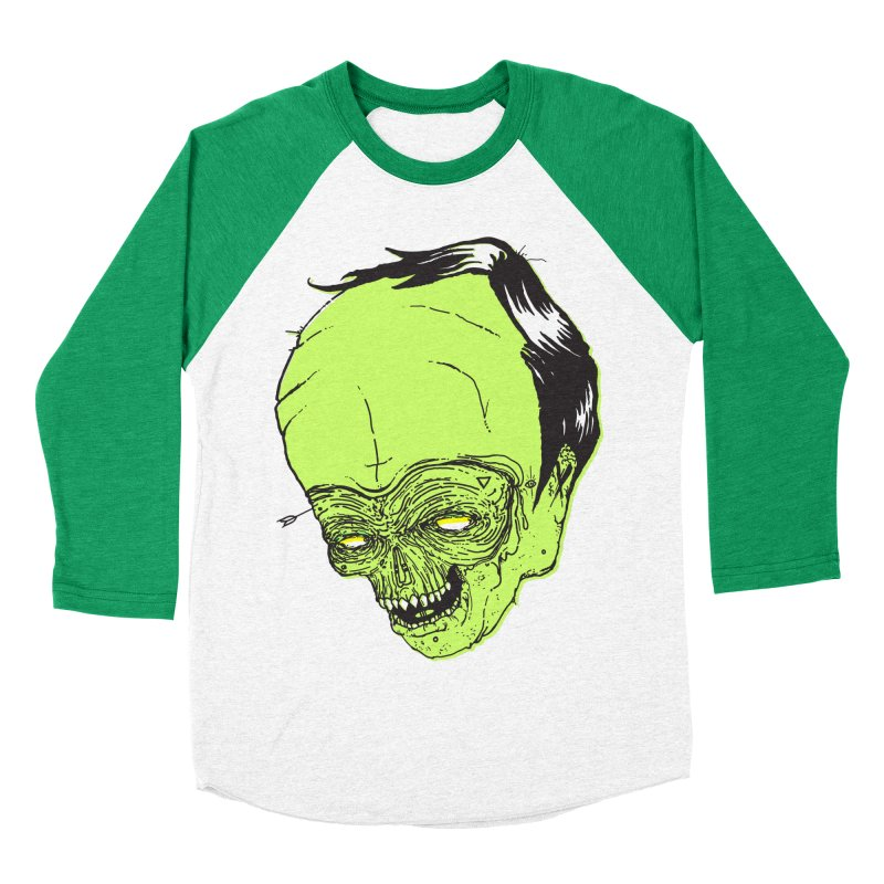 Swingset Creeper Men's Baseball Triblend Longsleeve T-Shirt by Garrett Shane Bryant