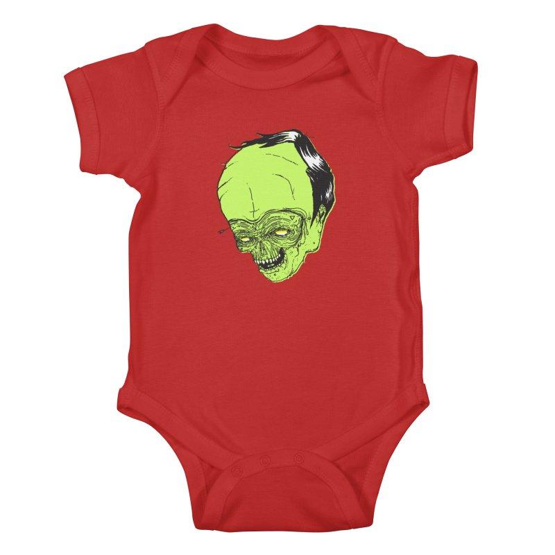 Swingset Creeper Kids Baby Bodysuit by Garrett Shane Bryant