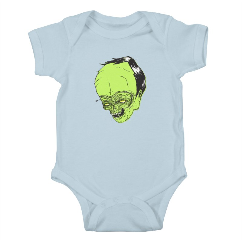 Swingset Creeper Kids Baby Bodysuit by Garrett Shane Bryant