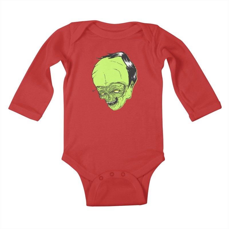 Swingset Creeper Kids Baby Longsleeve Bodysuit by Garrett Shane Bryant
