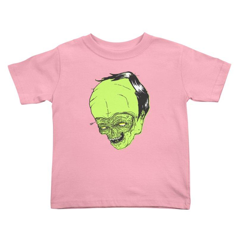 Swingset Creeper Kids Toddler T-Shirt by Garrett Shane Bryant
