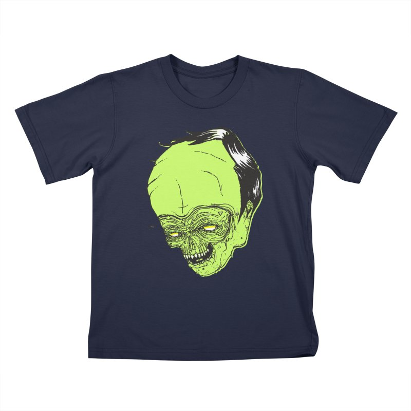 Swingset Creeper Kids T-Shirt by Garrett Shane Bryant
