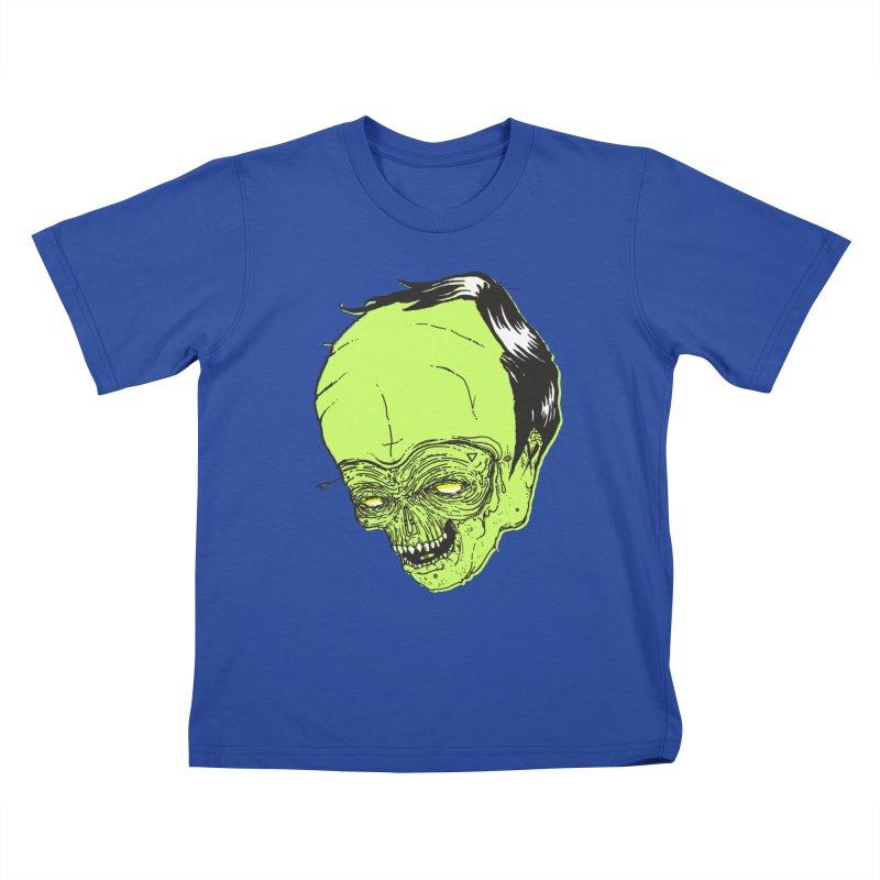 Swingset Creeper Kids T-Shirt by Garrett Shane Bryant