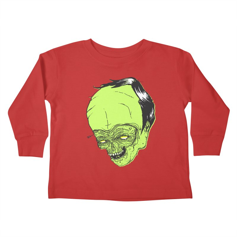 Swingset Creeper Kids Toddler Longsleeve T-Shirt by Garrett Shane Bryant