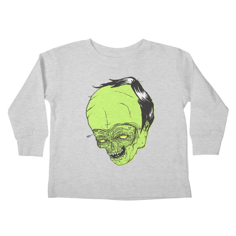 Swingset Creeper Kids Toddler Longsleeve T-Shirt by Garrett Shane Bryant