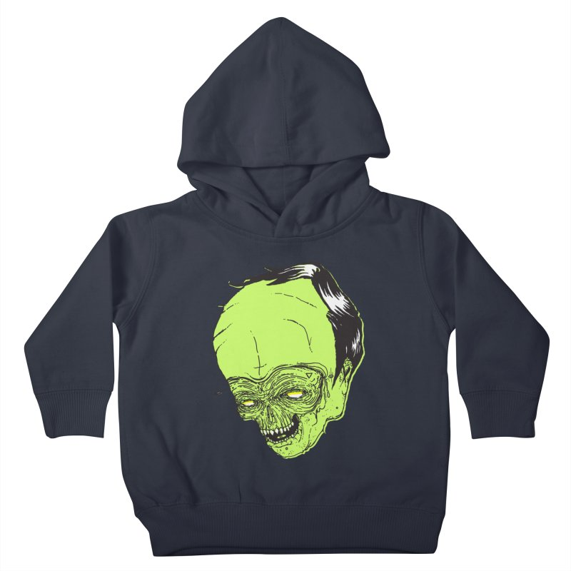 Swingset Creeper Kids Toddler Pullover Hoody by Garrett Shane Bryant