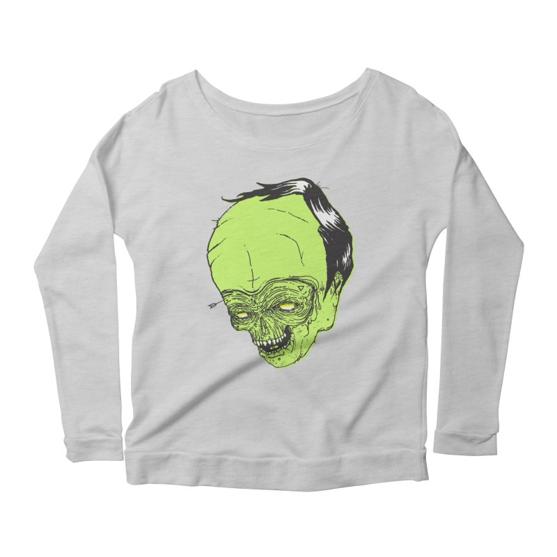 Swingset Creeper Women's Scoop Neck Longsleeve T-Shirt by Garrett Shane Bryant