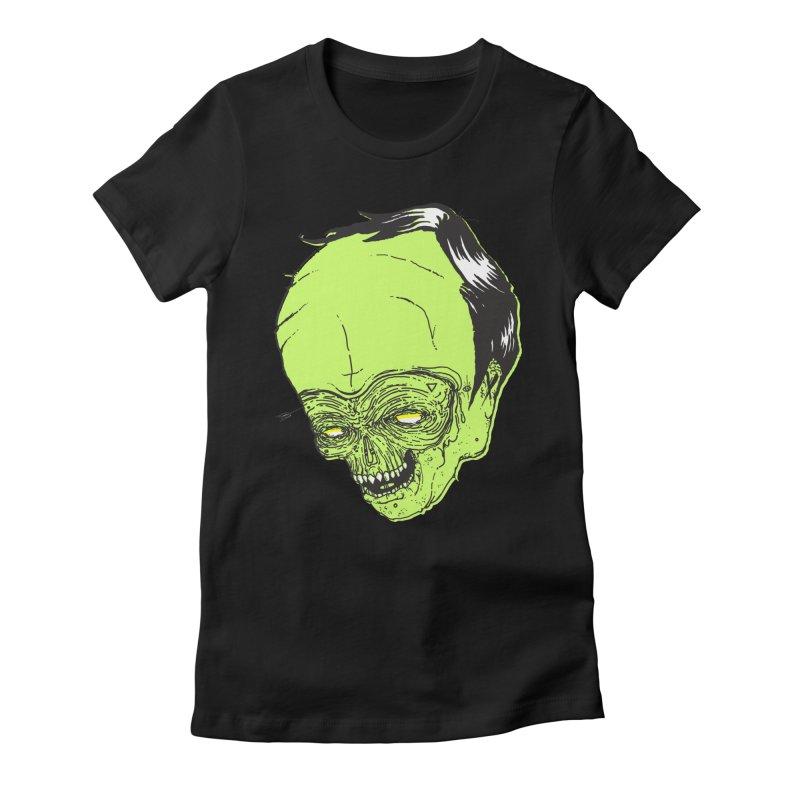 Swingset Creeper Women's Fitted T-Shirt by Garrett Shane Bryant