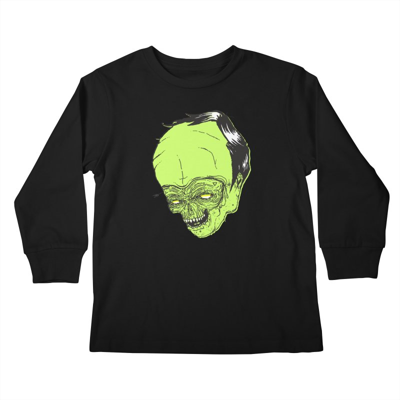 Swingset Creeper Kids Longsleeve T-Shirt by Garrett Shane Bryant