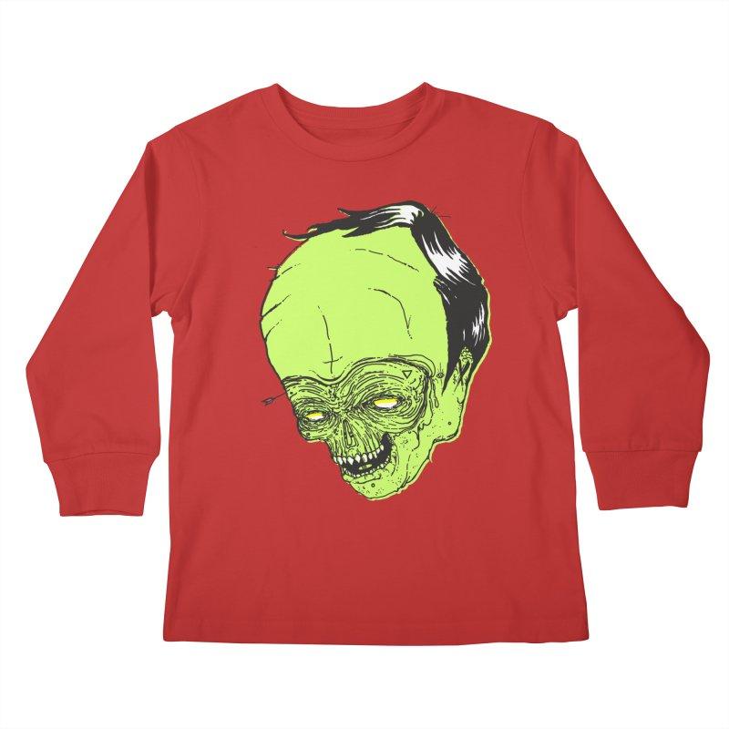 Swingset Creeper Kids Longsleeve T-Shirt by Garrett Shane Bryant