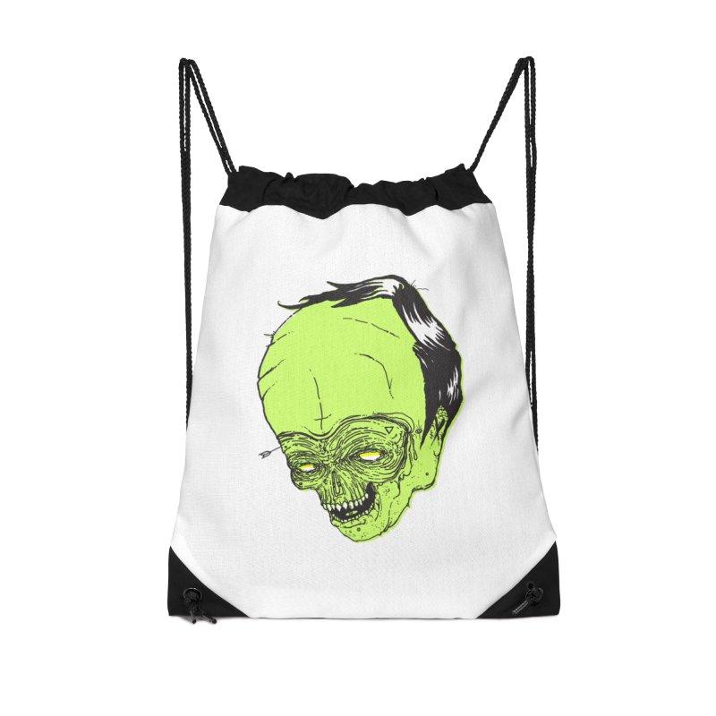 Swingset Creeper Accessories Drawstring Bag Bag by Garrett Shane Bryant