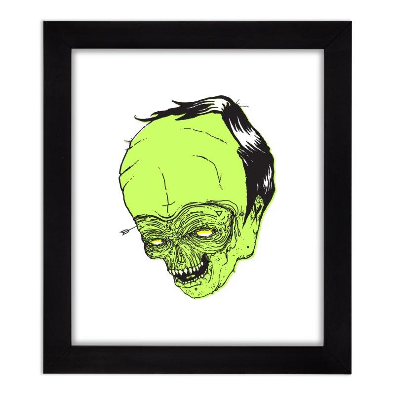 Swingset Creeper Home Framed Fine Art Print by Garrett Shane Bryant