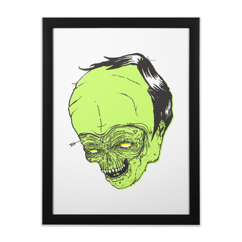 Swingset Creeper Home Framed Fine Art Print by Garrett Shane Bryant