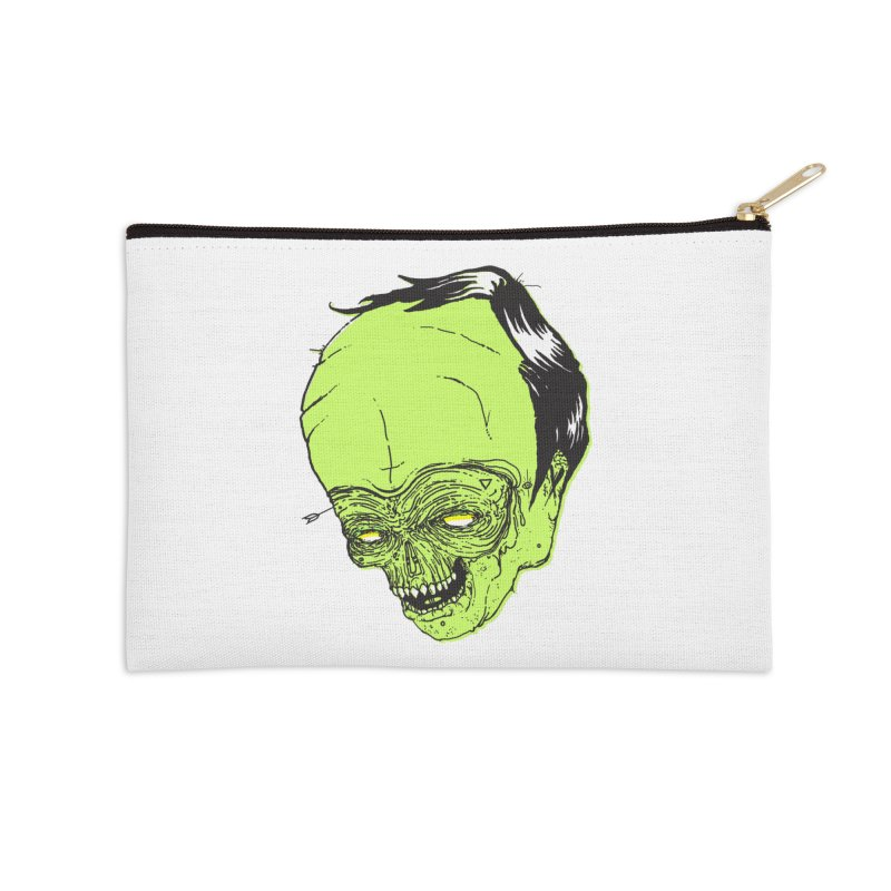 Swingset Creeper Accessories Zip Pouch by Garrett Shane Bryant